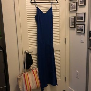 Lulu's cobalt blue maxi dress Size S